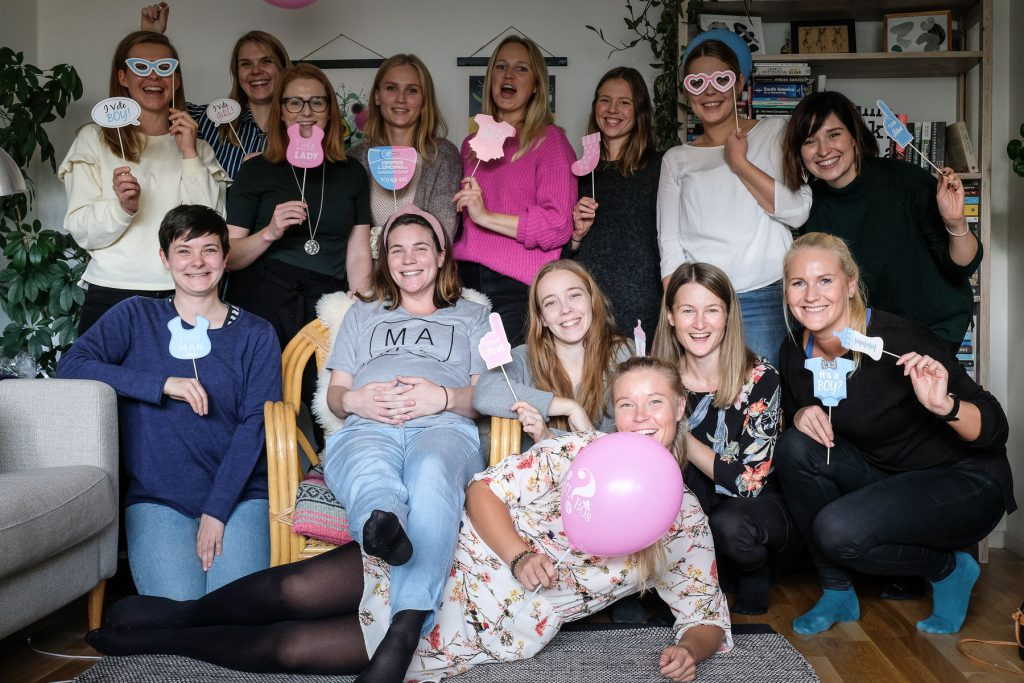 Totalt överraskad - Min baby shower